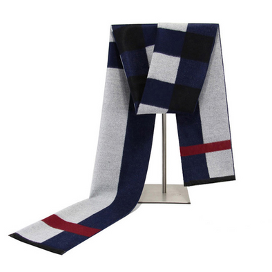Men's winter warm cashmere scarf 233