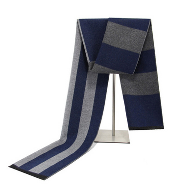 Men's winter warm cashmere scarf 234