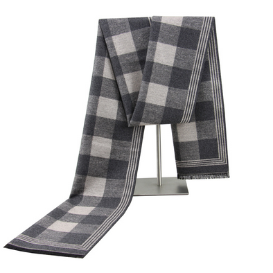 Men's winter warm cashmere scarf 236
