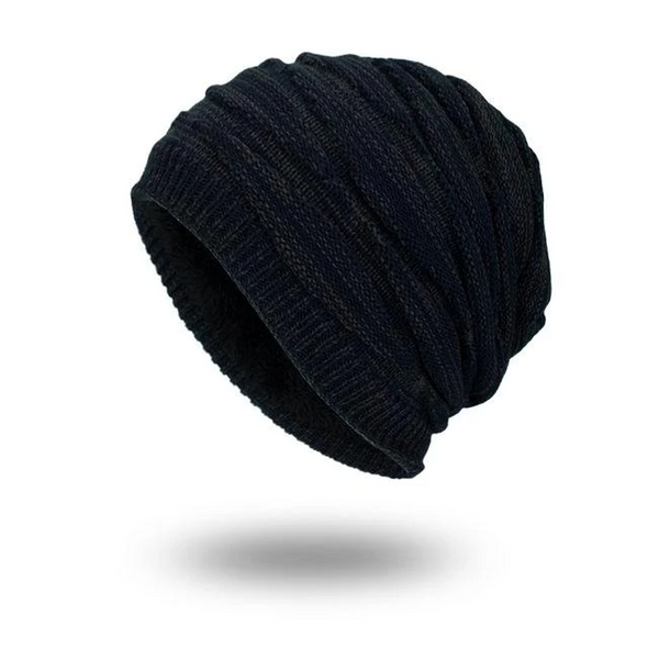 Knit pullover cap