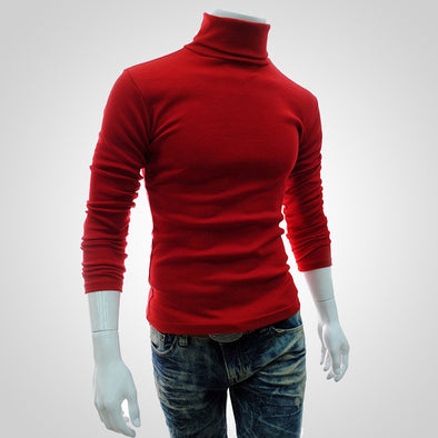 Bosswears High-Necked Pullover Bottoming Sweater 669
