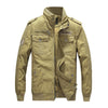 BossWears Autumn Men'S Military Jacket Men'S Cotton Jacket 604