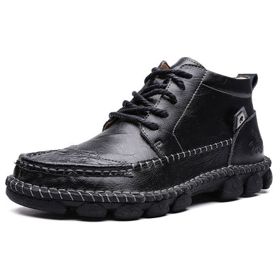 Autumn And Winter Men'S Boots Casual Retro Shoes 688