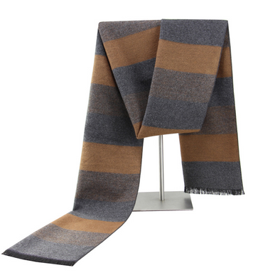 Men's winter warm cashmere scarf 243