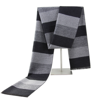 Men's winter warm cashmere scarf 244