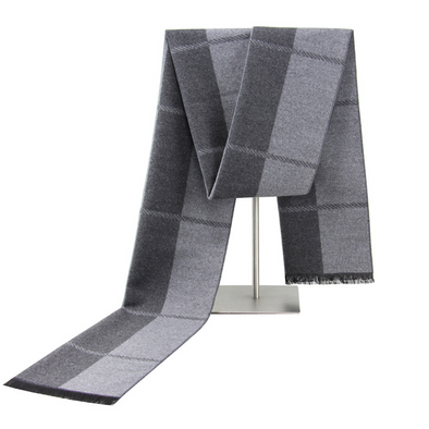 Men's winter warm cashmere scarf 220