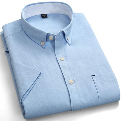 BossWears Solid color men's business shirt