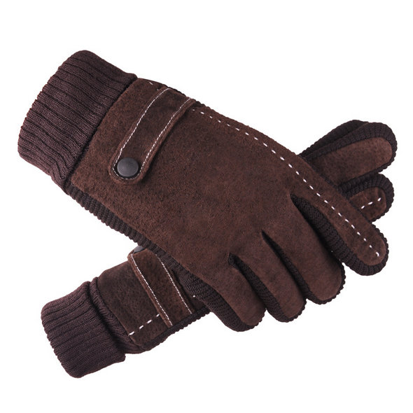 BossWears Men's cycling to prevent cold warm gloves 204