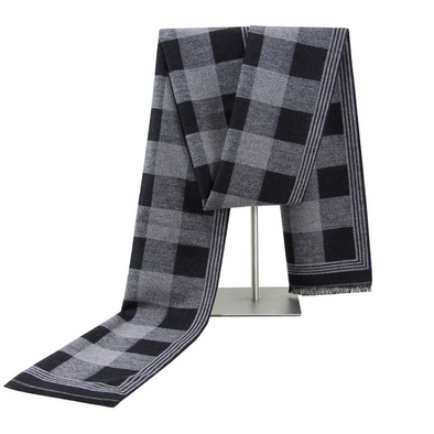 Men's winter warm cashmere scarf 253