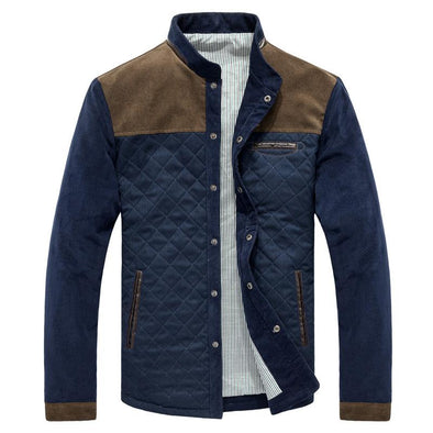 Men Single Breasted Jacket