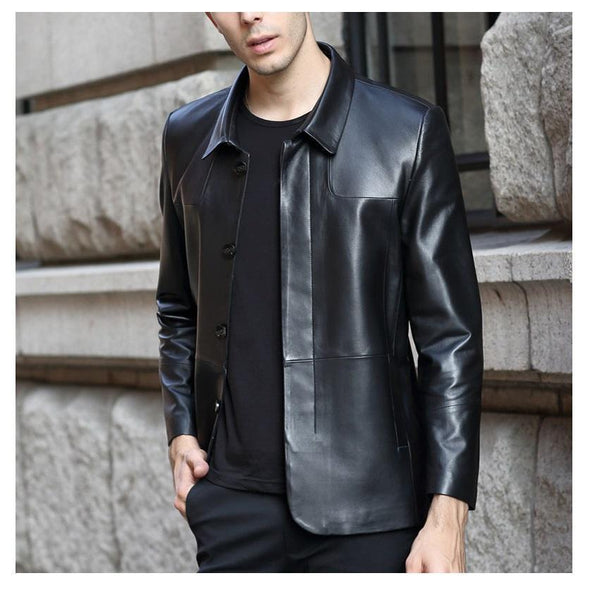 BossWears Sento Men's Genuine Leather Jacket