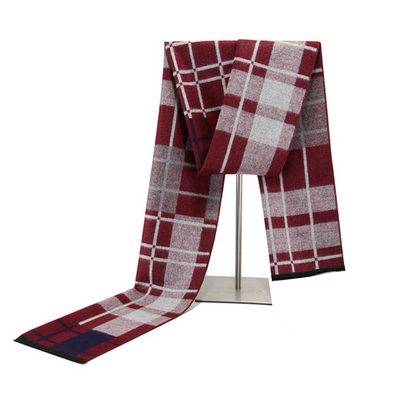 Men's winter warm cashmere scarf 226