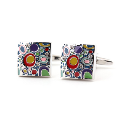 Men's Craft Craft Colorful Cufflinks 215