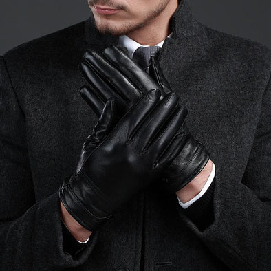 Men Warm Full-finger Gloves Fitness