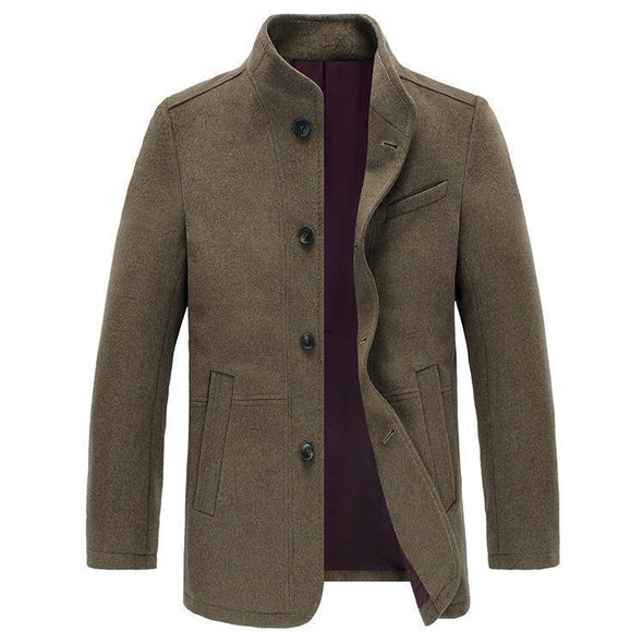 Men's pure Wool Jacket 015