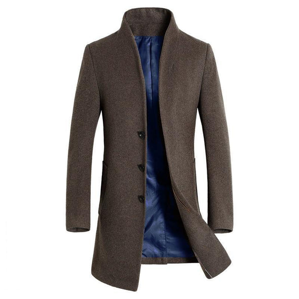 Wool trench coat 101