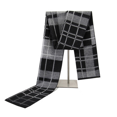 Men's winter warm cashmere scarf 227