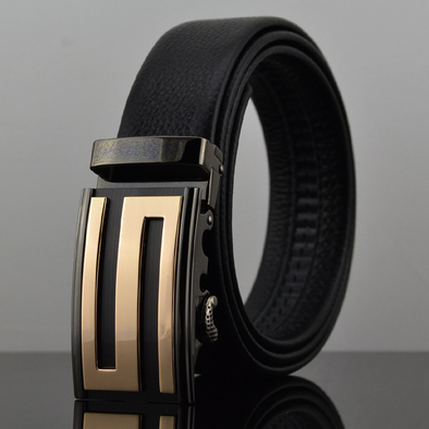 BossWears Men's double-sided suede leather belt 254