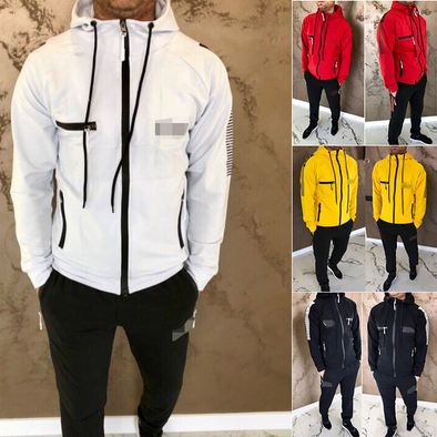 Hooded Sports Casual Set 310
