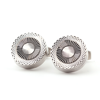 BossWears Men's metal cufflinks 214