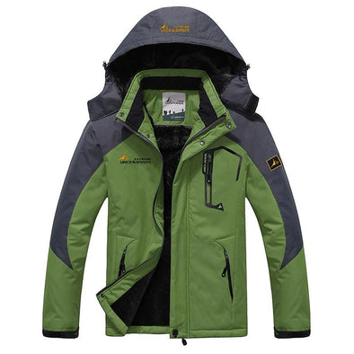Thick Outdoor Waterproof Cotton Jacket Mountaineering Clothing