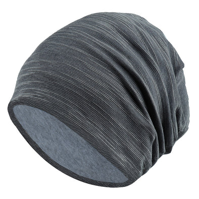 Cotton Solid Color Breathable Pile Hat 037