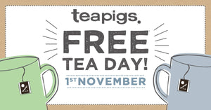 teapigs free tea day 2018