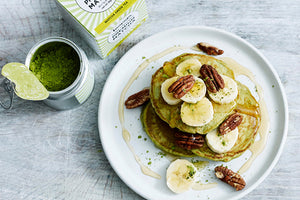 how to make matcha pancakes