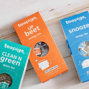 Say hello to our NEW feel-good teas
