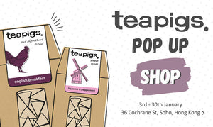 teapigs pop up shop!