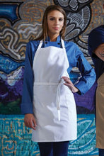 Load image into Gallery viewer, UT 3016 - 2-Patch-Pocket Bib Apron
