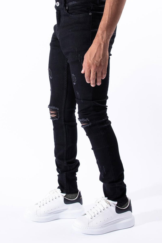 Serenede Midnight Black Classic Jeans