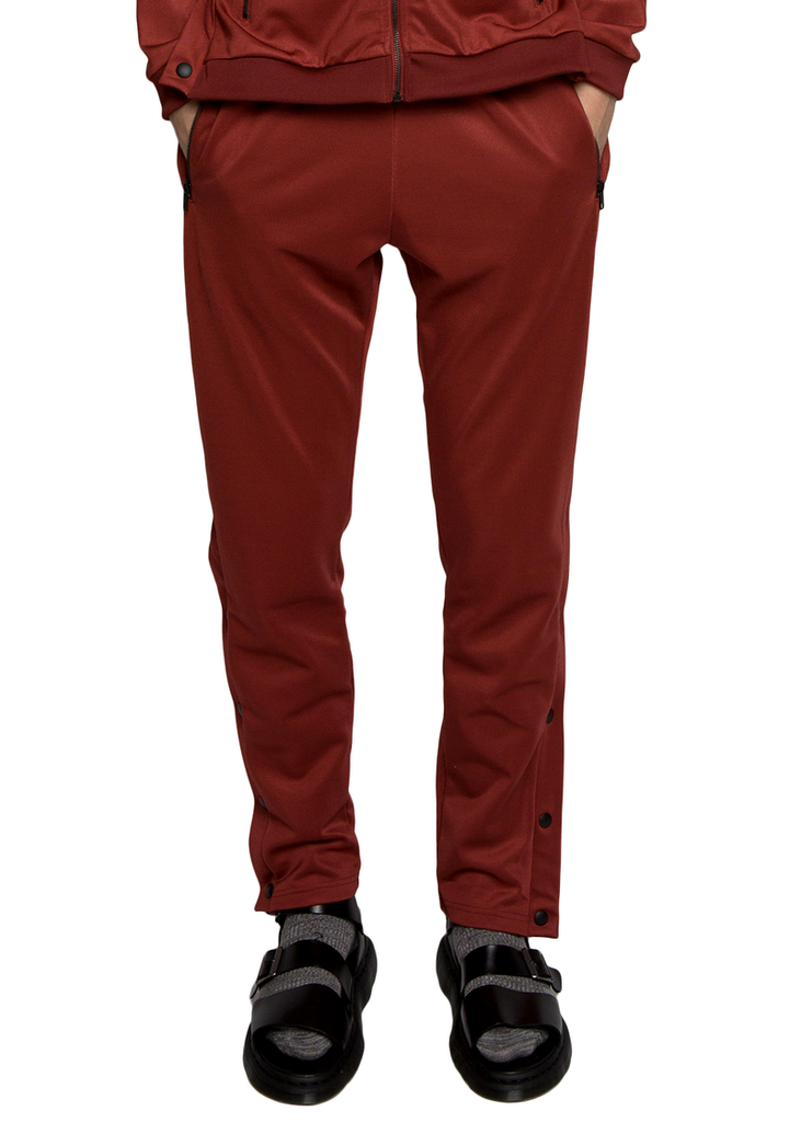Diplomacy City Tracker Tracksuit Set - Oxblood