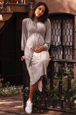 Tie Front Knit Dress