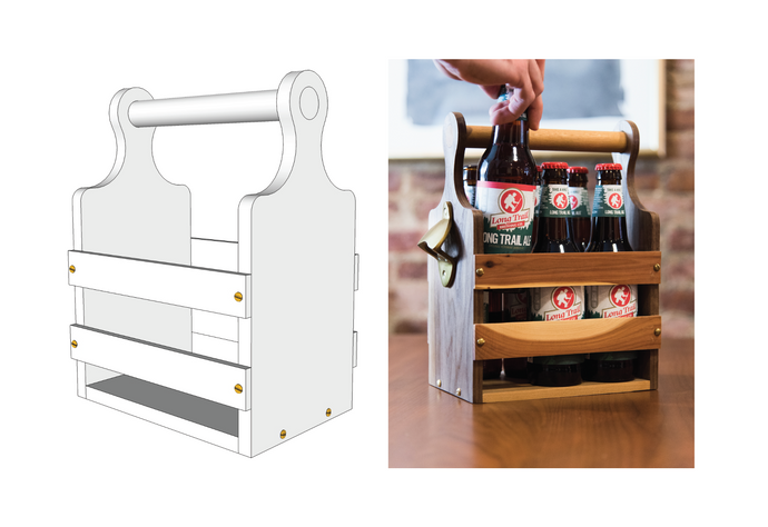 Beer Tote - Downloadable Plans