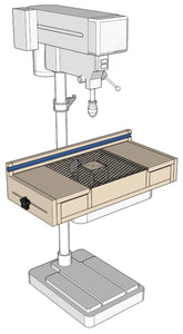 Drill press table - Plans