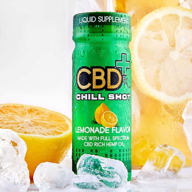 CBDfx Chill Shot Lemon