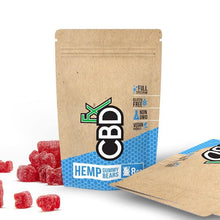 Load image into Gallery viewer, CBD Gummy Bears 40mg Fruit Flavor- 8ct Pouch