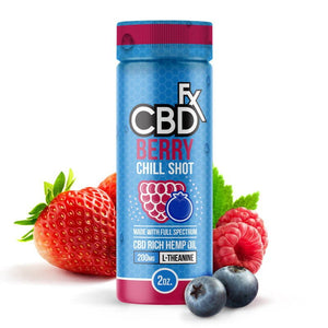 CBDfc Chill Shot CBD Drink | Berry Chill pure CBD Natural and Vegan