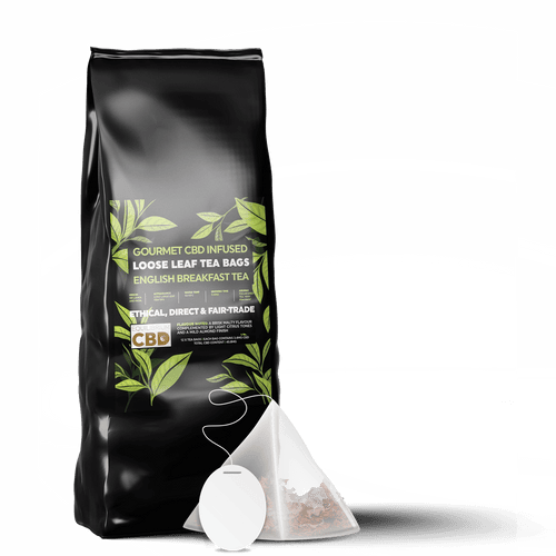 Tea infused CBD | 12 Tea Bags with Natural CBD | CBD in Spain | CBD to relax