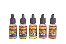 Load image into Gallery viewer, Sale 3 x Orange County 1000mg CBD MCT Oil 30ml