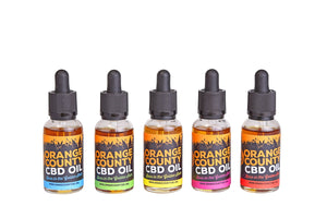 Orange County 1500mg CBD MCT Oil 30ml