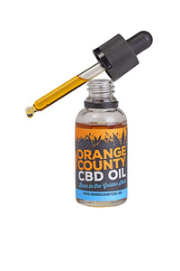 Orange County 3000mg CBD MCT Oil 30ml
