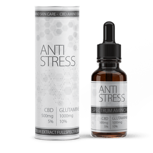 VALEO anti stress CBD - 5% oil CBD + glutamine