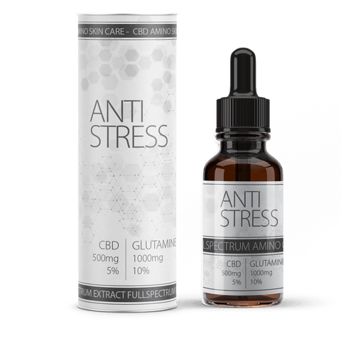 Anti Stress CBD and Amino Blend | 10ml bottle of CBD | Reduce stress with CBD