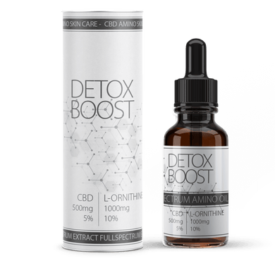 Detox Boost CBD | Blended CBD oil | Amino Acid