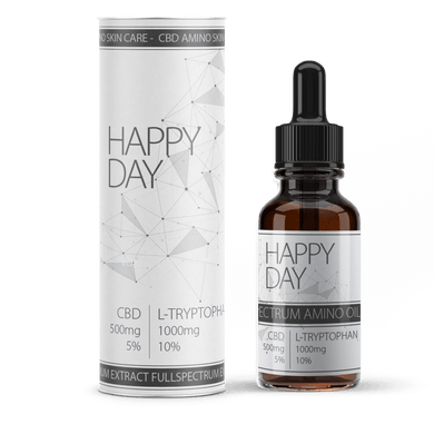 Happy Days CBD | CBD blended amino Acid | Feel Good with CBD