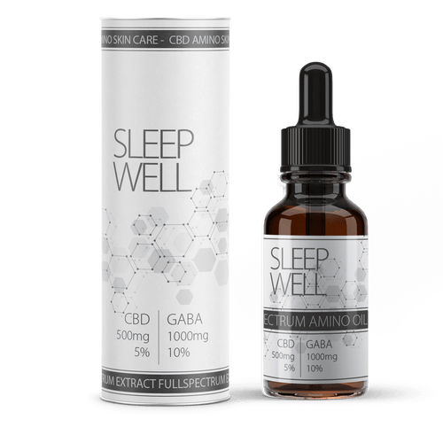 VALEO SLEEP WELL CBD - 5% oil CBD + gaba