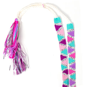 Sticks Pink Tassel Headband Set