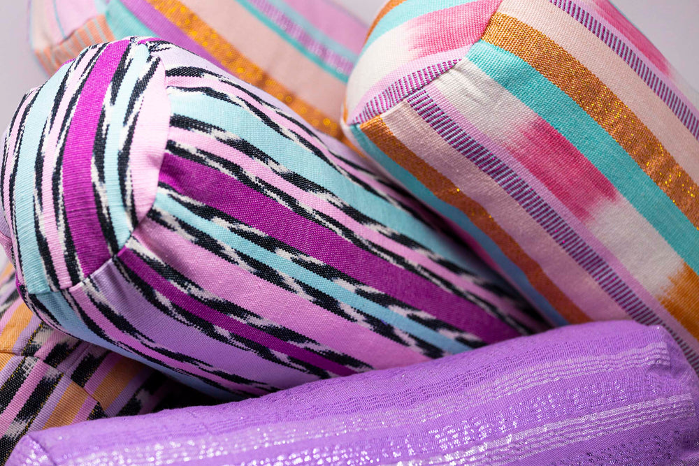 Load image into Gallery viewer, Sicks Bolster Pillow Purple